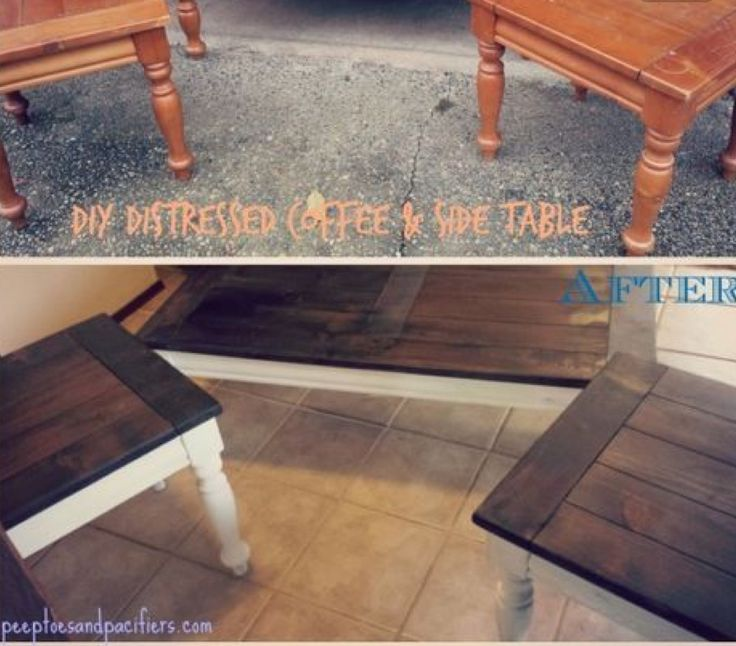 17 Best Ideas About Coffee Table Makeover On Pinterest