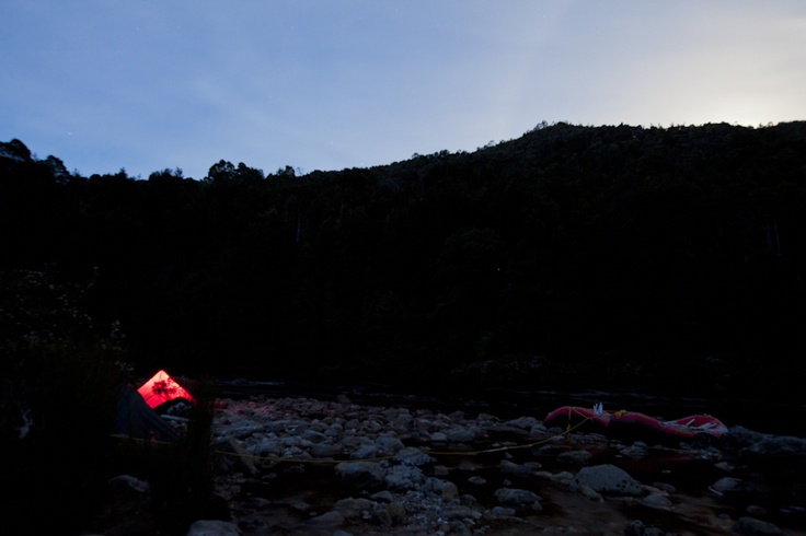 Franklin River Rafting, Nicolas Monteban Photography Our camp for the night, it doesn't get any better then that!