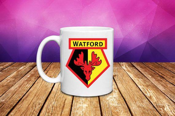 Watford F.C. Premier League Coffee/Tea/Hot Chocolate by Giftiara