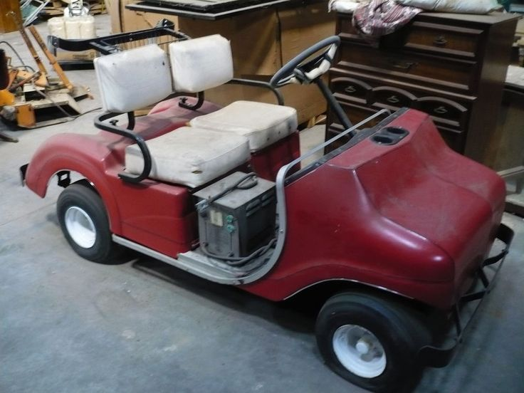Early 1970's Pargo Golf Cart Parts or repair #pargo