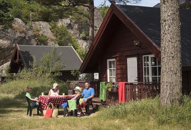 We like camping and beach life in Southern Norway. This is Åros Camping in Søgne outside Kristiansand. Photo: Peder Austrud©Visit Southern Norway