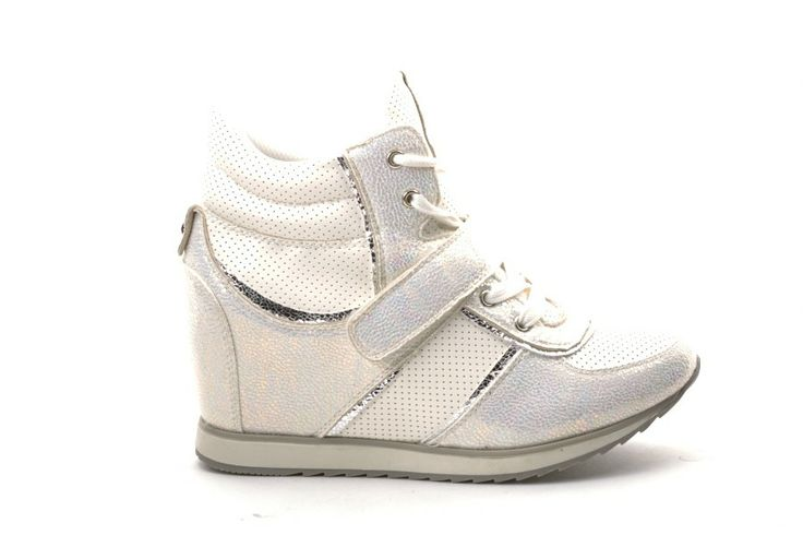 Scarpe Donna GOLD AND GOLD Sneakers donna con zeppa Bianco