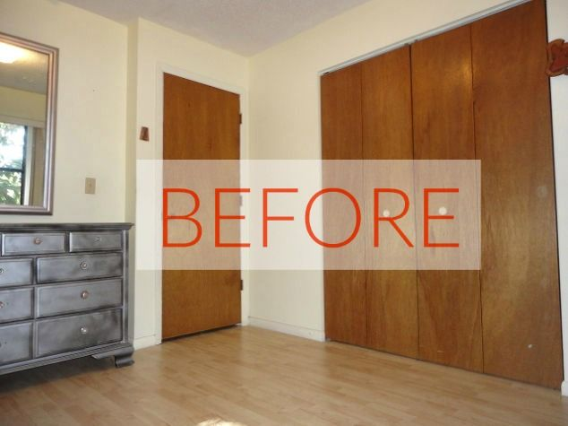 Room doors black and trim white!!!