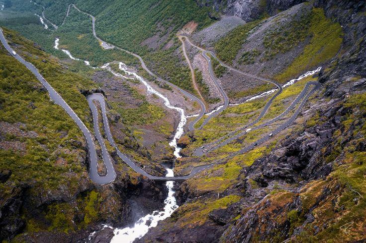 Norway Trollstigen Road