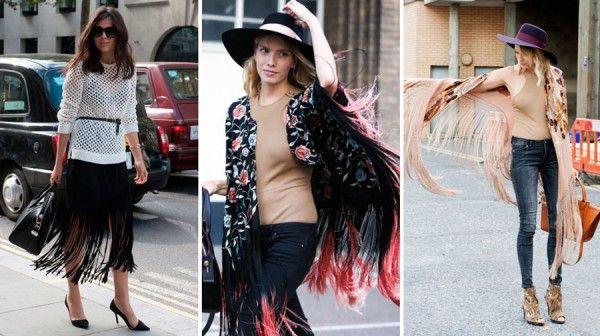 Franja // Semana da moda de Londres