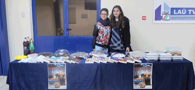 LAÜ öğrencileri tarafından hayvan barınağı için kermes düzenlendi