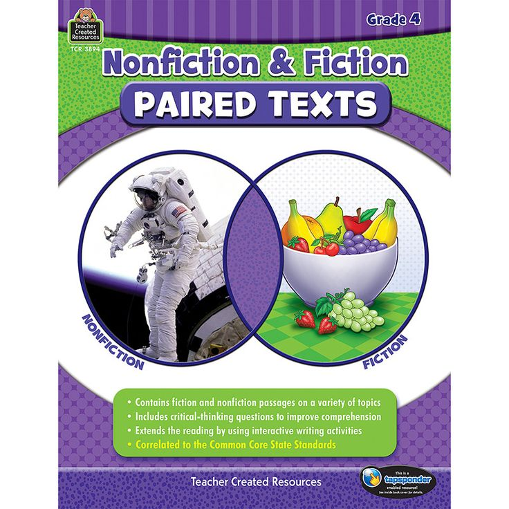 Promote student engagement and improve comprehension skills by teaching students to make connections between fiction and nonfiction texts. This resource provides high-interest passages and assessments