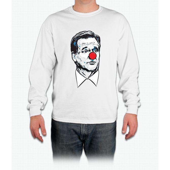 Matt Patricia Clown Shirt Long Sleeve T-Shirt