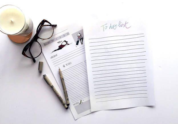 To do list : téléchargez gratuitement votre to do list à imprimer