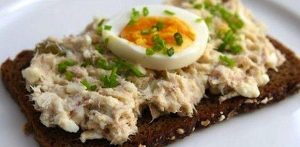 pasta z makreli i jaja