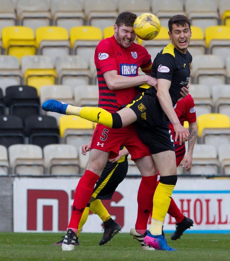 Queen's Park's Ryan McGeever in action during the Ladbrokes League One game between Livingston and Queen's Park.