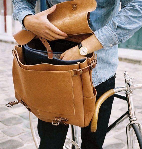 Postman Bag by Bleu De Chauffe