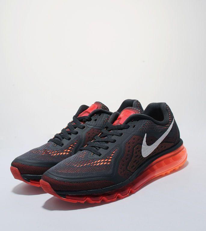 Online sales Nike Air Max 2014 Cheap sale Black Atomic Orange Vo