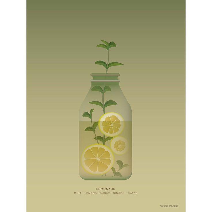 Lemonade, 50x70 cm