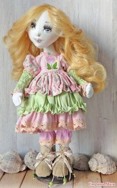 . Пара интерьерных кукол