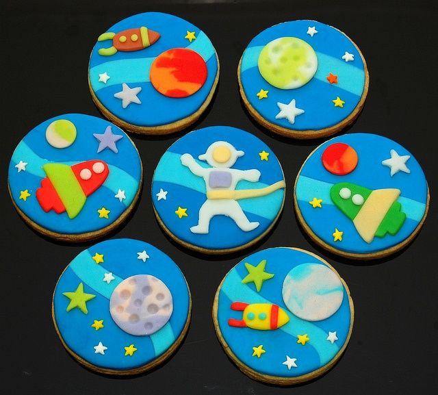 images of universe cookies