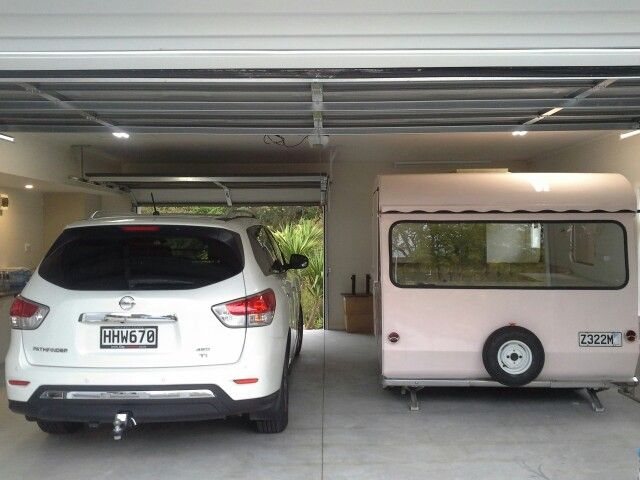 Garage for dolly
