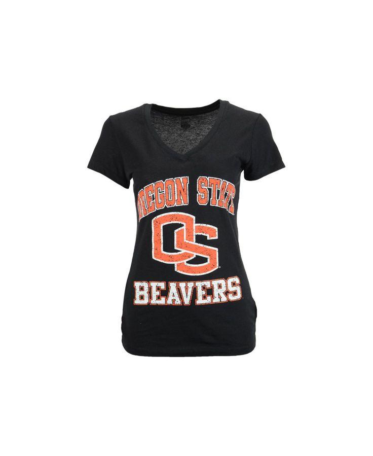 Soffe Women's Oregon State Beavers V-Neck T-Shirt