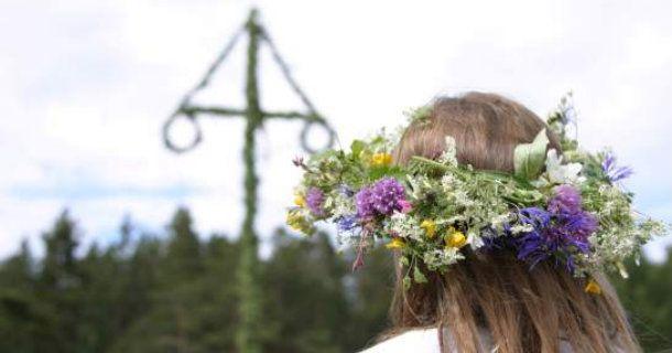 Majstång, fruktbarhet & blommor.