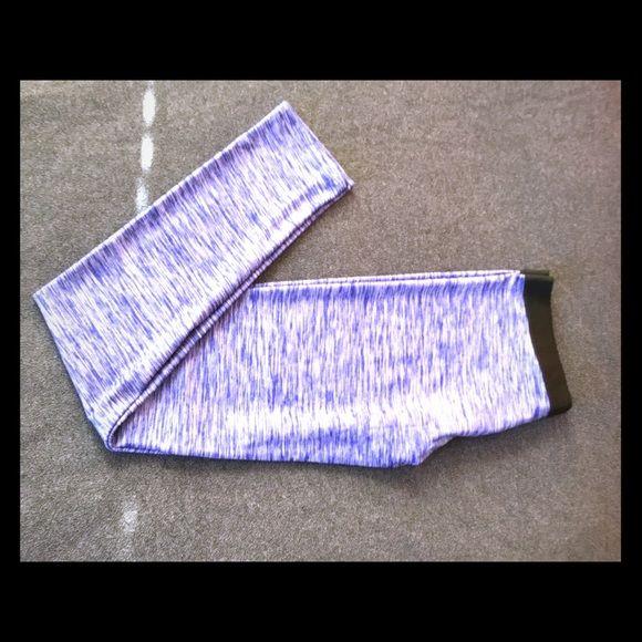 MARKS & SPENCER - leggings New blue color leggings , Marks & Spencer UK. Black waist band for tight fit. MARKS & SPENCER Pants Leggings