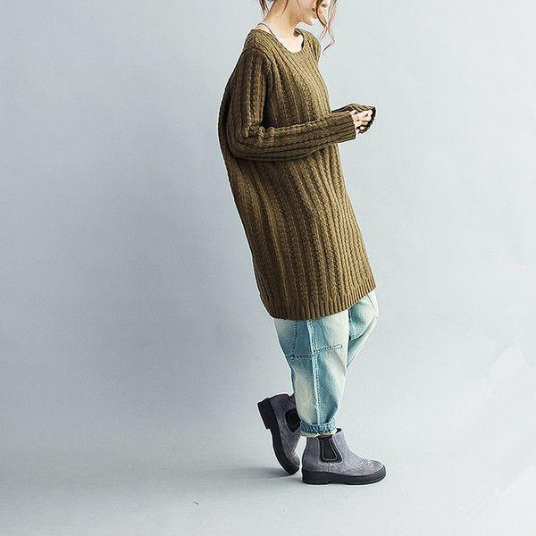 Loose Fit gestrickte Pullover Pullover top von Freeriginal auf DaWanda.com