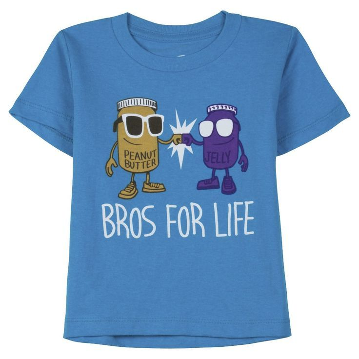 Infant Toddler Boys' Short Sleeve Bros For Life Graphic Tee