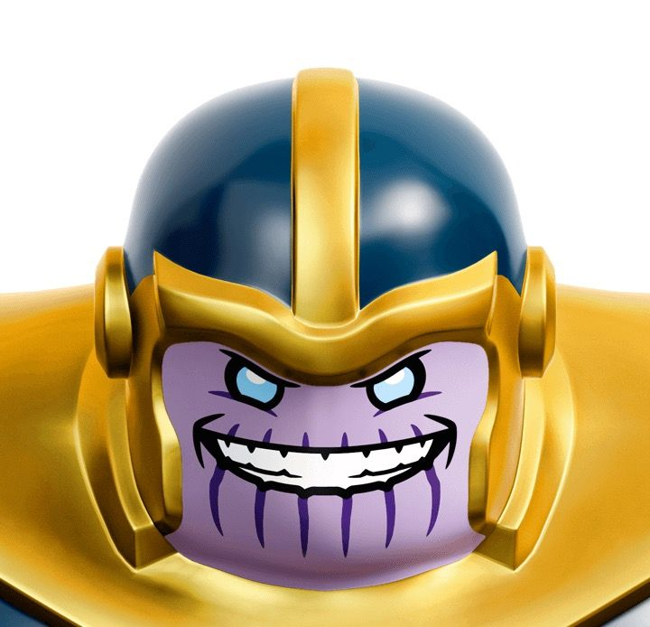 LEGO THANOS HEAD