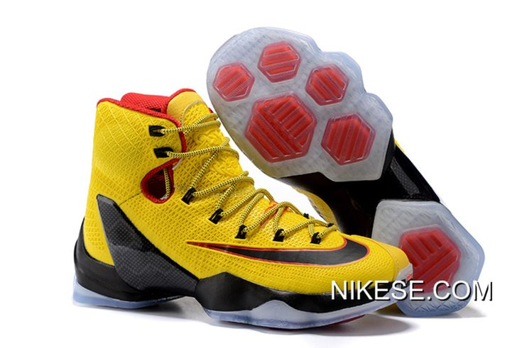 promo code 411e5 713b4 ... big deals nike lebron 13 elite yellow black red