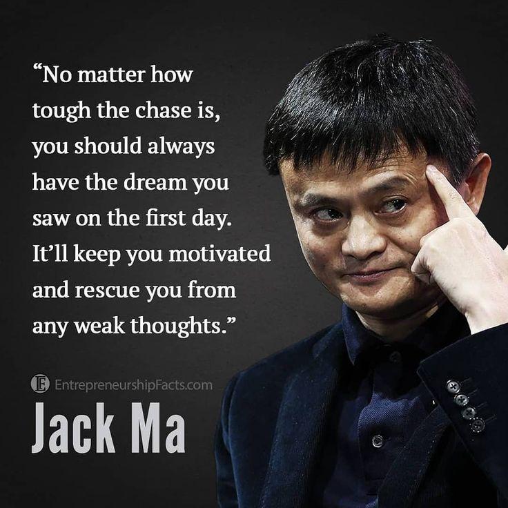 Business Motivation Jack Ma Business Motivation