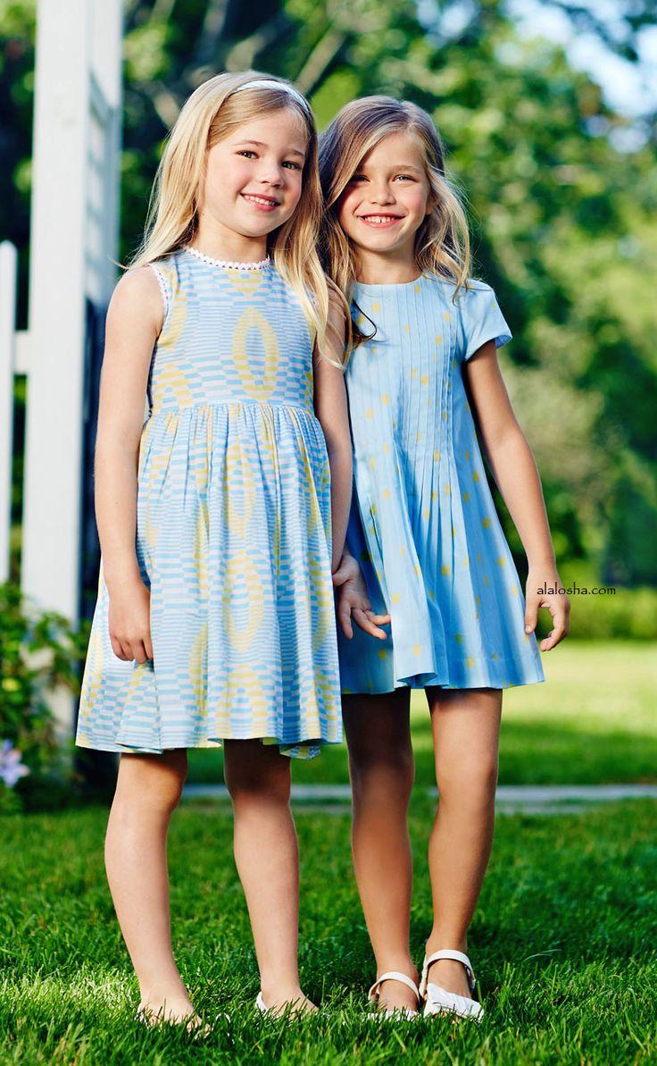 ALALOSHA: VOGUE ENFANTS: NEW SEASON: OSCAR de la RENTA SS'16 Precious Pastels