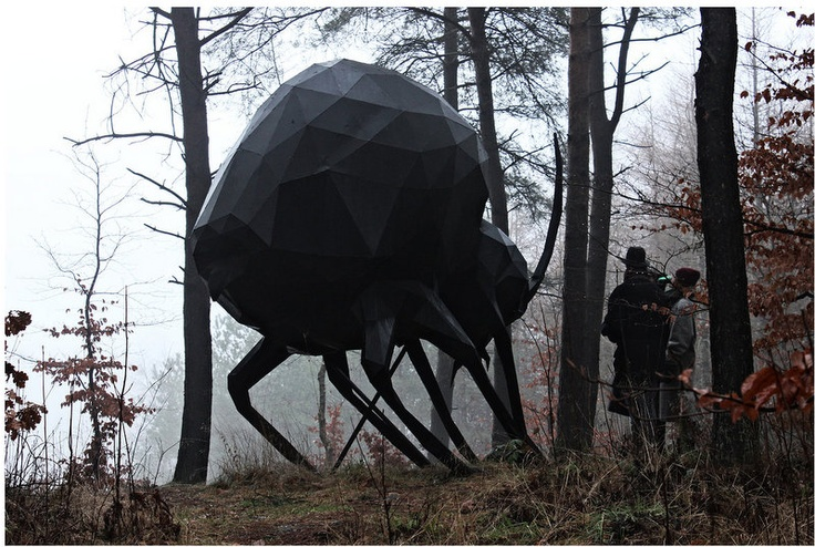 The Big Beetle, by René Schmidt Skovsnogen Artspace www.skovsnogen.dk