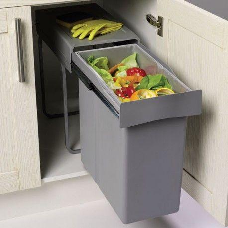Les 25 meilleures id es de la cat gorie poubelle - Petite poubelle de cuisine ...