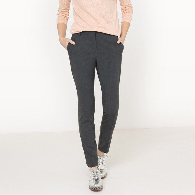 Image Slim Fit Trousers La Redoute Collections
