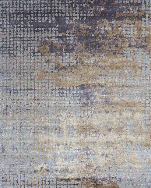 Gorgeous hand knotted wool and silk rug design available to be made in any size or colour #interiors #interiordesign #rug #custommade