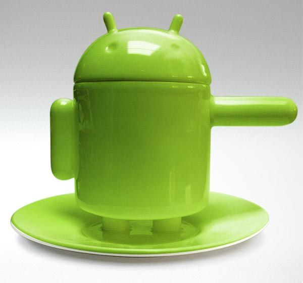 #ANDROID ESPRESSO CUP SET