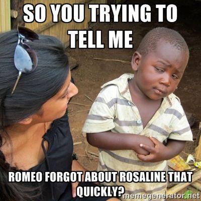 10872cf851d8ea1b7d35c93597b83d90 16 best images about romeo and juliet on pinterest romeo and,Romeo And Juliet Meme