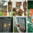 20 Fascinating Backyard Garden Fence Decoration Makeover DIY Ideas
