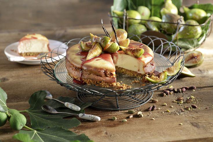Αυτό το cheesecake φούρνου #MadeWithAB με ανθότυρο, σύκα και γλυκό κρασί έχει γεύση από «ελληνικό καλοκαίρι», όταν το δοκιμάσεις θα με θυμηθείς!