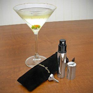 Stainless Martini Vermouth Atomizer Includes