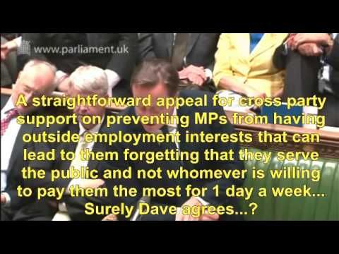 David Cameron PMQs An Affront To Parliamentary Democracy