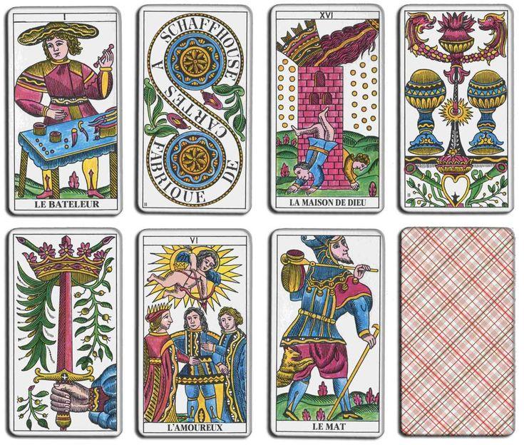 Tarot de Marseille de Claude Burdel