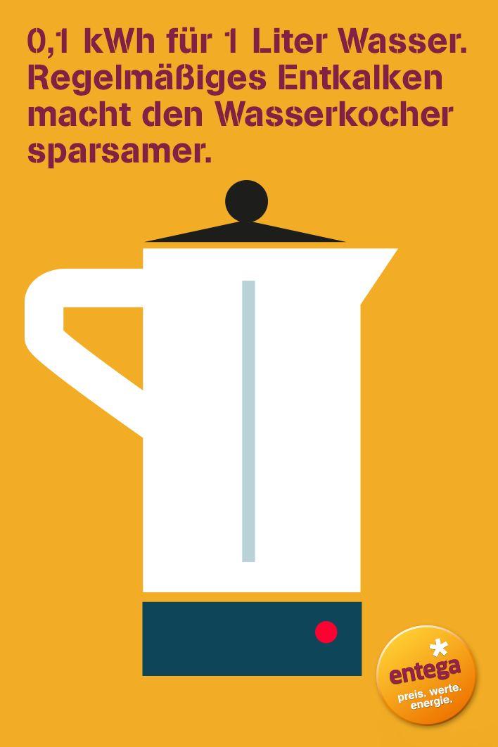Wo kann ich #Strom #sparen? Beispielsweise den #Wasserkocher #entkalken. Viele weitere #Tipps findet ihr in unserem Artikel.