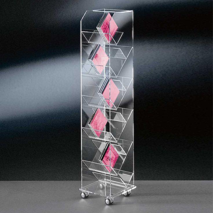 CD Regal aus Acrylglas modern Jetzt bestellen unter: https://moebel.ladendirekt.de/wohnzimmer/tv-hifi-moebel/cd-dvd-regale/?uid=5cb6b181-d750-5b8b-a1a5-d6694729f7bd&utm_source=pinterest&utm_medium=pin&utm_campaign=boards #gestell #rack #esszimmerregal #glas #cddvdregale #regal #moebel #tvhifimoebel #schrank #dvd #cdschrank #hifi #wohnzimmer #esszimmer #cdregal #glasregal