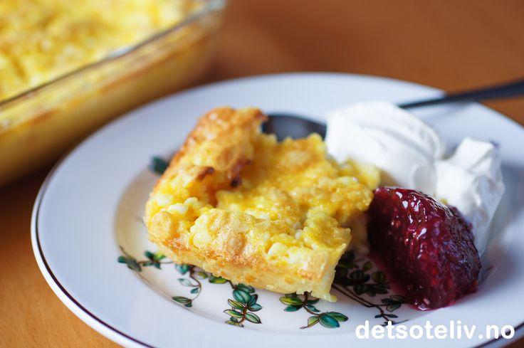 Skånsk ostekake | Det søte liv