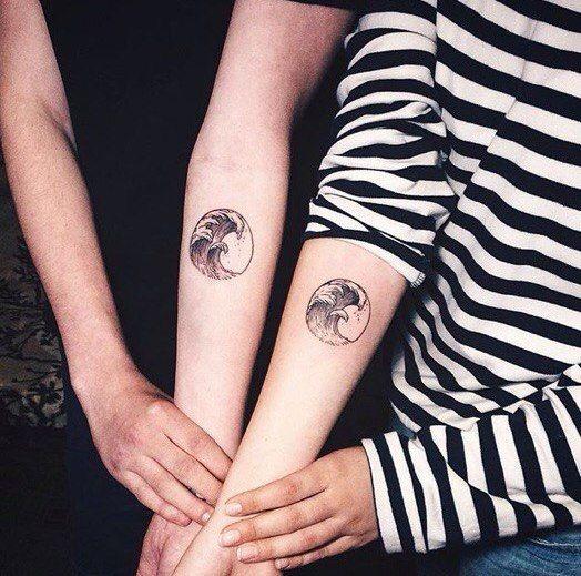 Парные татуировки | 59 photos