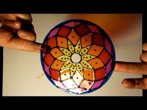 How to paint dot mandalas- tools and tips/part two - YouTube