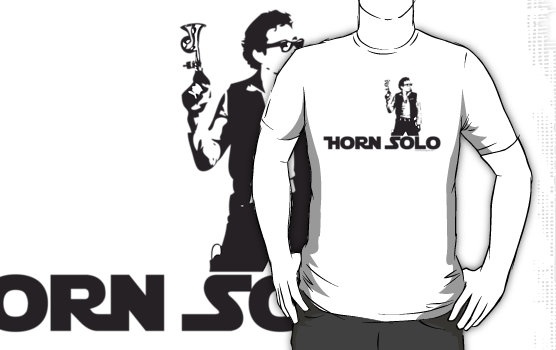 Horn Solo T-Shirt :: Asymetrical Style by MFBike