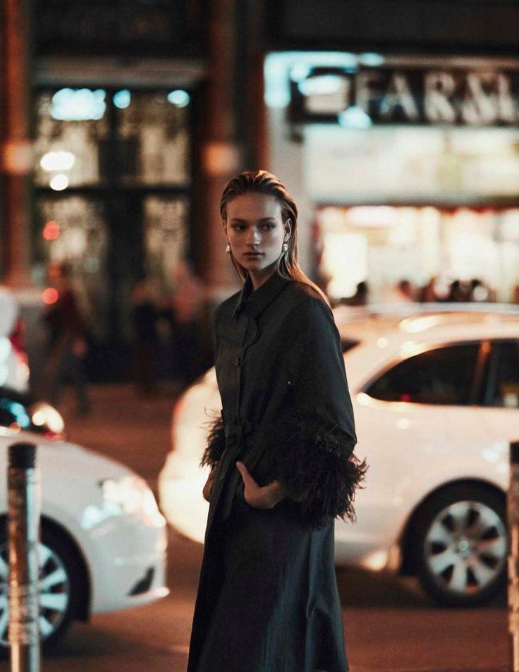 Vogue Spain February 2018 Sophia Ahrens by Alvaro Beamud