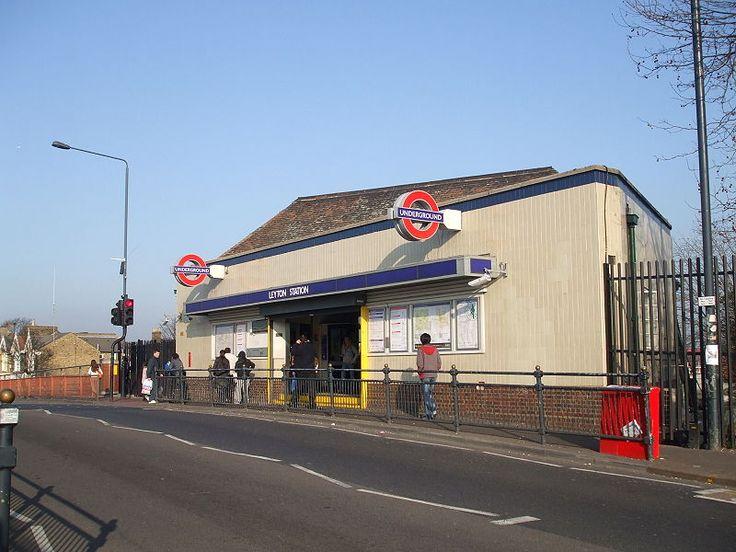 Leyton Tube Station, London