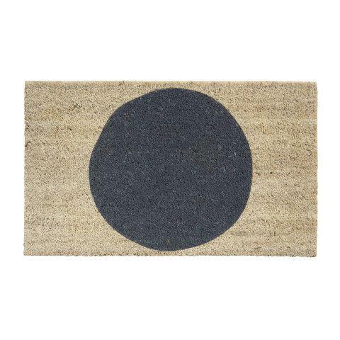 Big Spot Doormat Slate - Milk & Sugar $49.95
